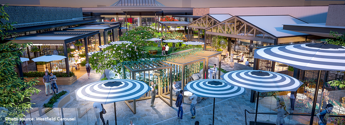 Dine In The Sky At Perth's Largest Shopping Centre