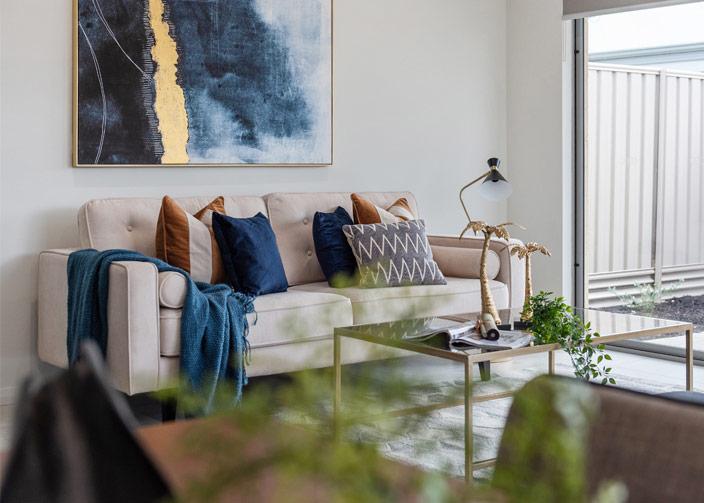 Modern Luxe Livingroom