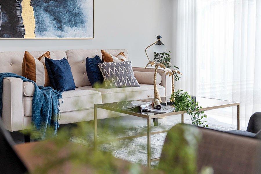 Landsdale living room