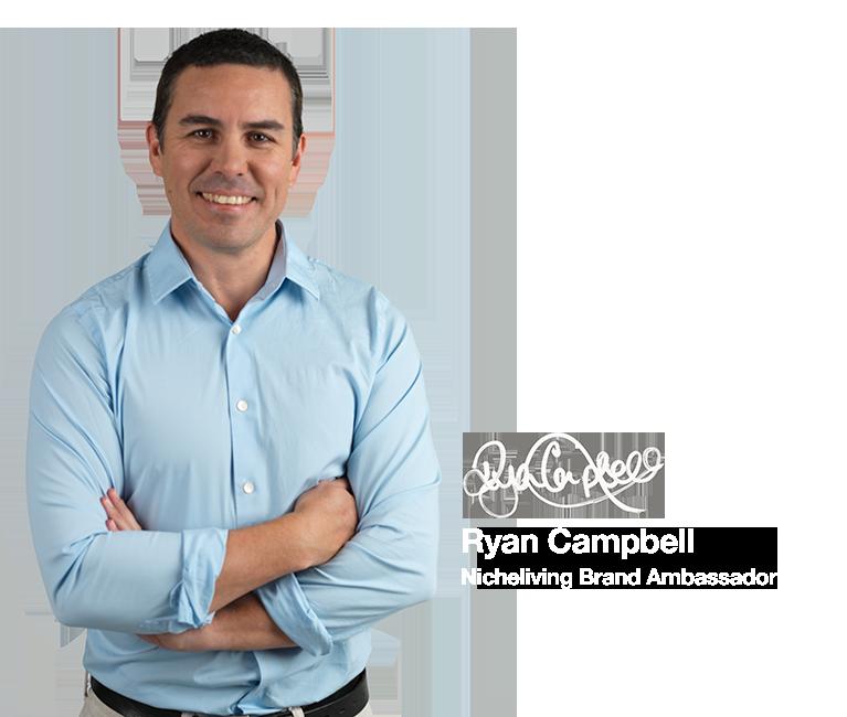 Ryan Campbell Nicheliving Brand Ambassador